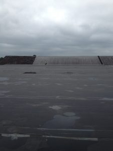 EPDM Re-Roof After Installation