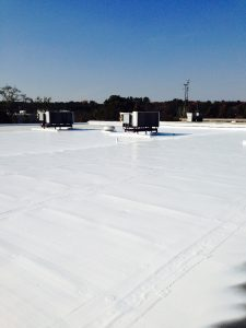 EPDM Roof Coated