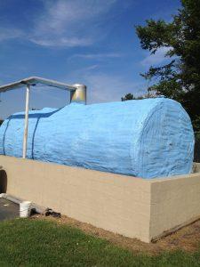 Storage Tank After coating