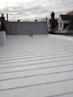 roof coating system